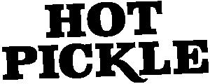 Hot pickle logo.