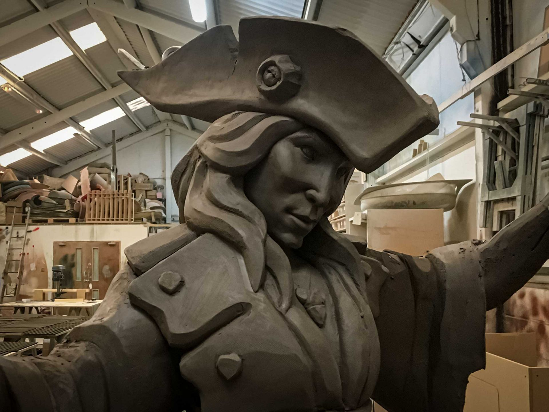 Sculpted belle sea of thieves character.
